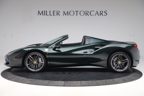 Used 2019 Ferrari 488 Spider Base for sale $329,900 at Bentley Greenwich in Greenwich CT 06830 3
