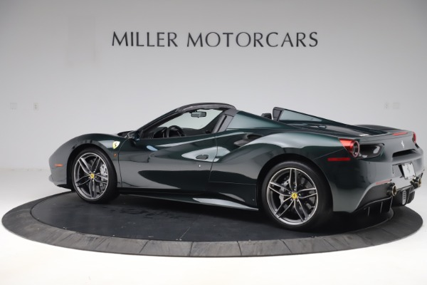 Used 2019 Ferrari 488 Spider Base for sale $329,900 at Bentley Greenwich in Greenwich CT 06830 4