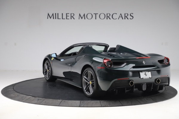 Used 2019 Ferrari 488 Spider Base for sale $329,900 at Bentley Greenwich in Greenwich CT 06830 5