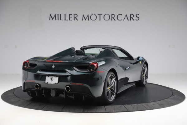 Used 2019 Ferrari 488 Spider Base for sale $329,900 at Bentley Greenwich in Greenwich CT 06830 7