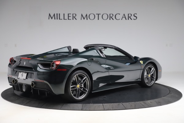 Used 2019 Ferrari 488 Spider Base for sale $329,900 at Bentley Greenwich in Greenwich CT 06830 8