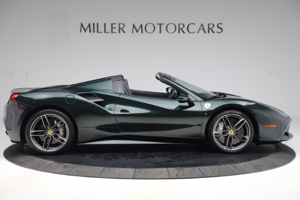 Used 2019 Ferrari 488 Spider Base for sale $329,900 at Bentley Greenwich in Greenwich CT 06830 9