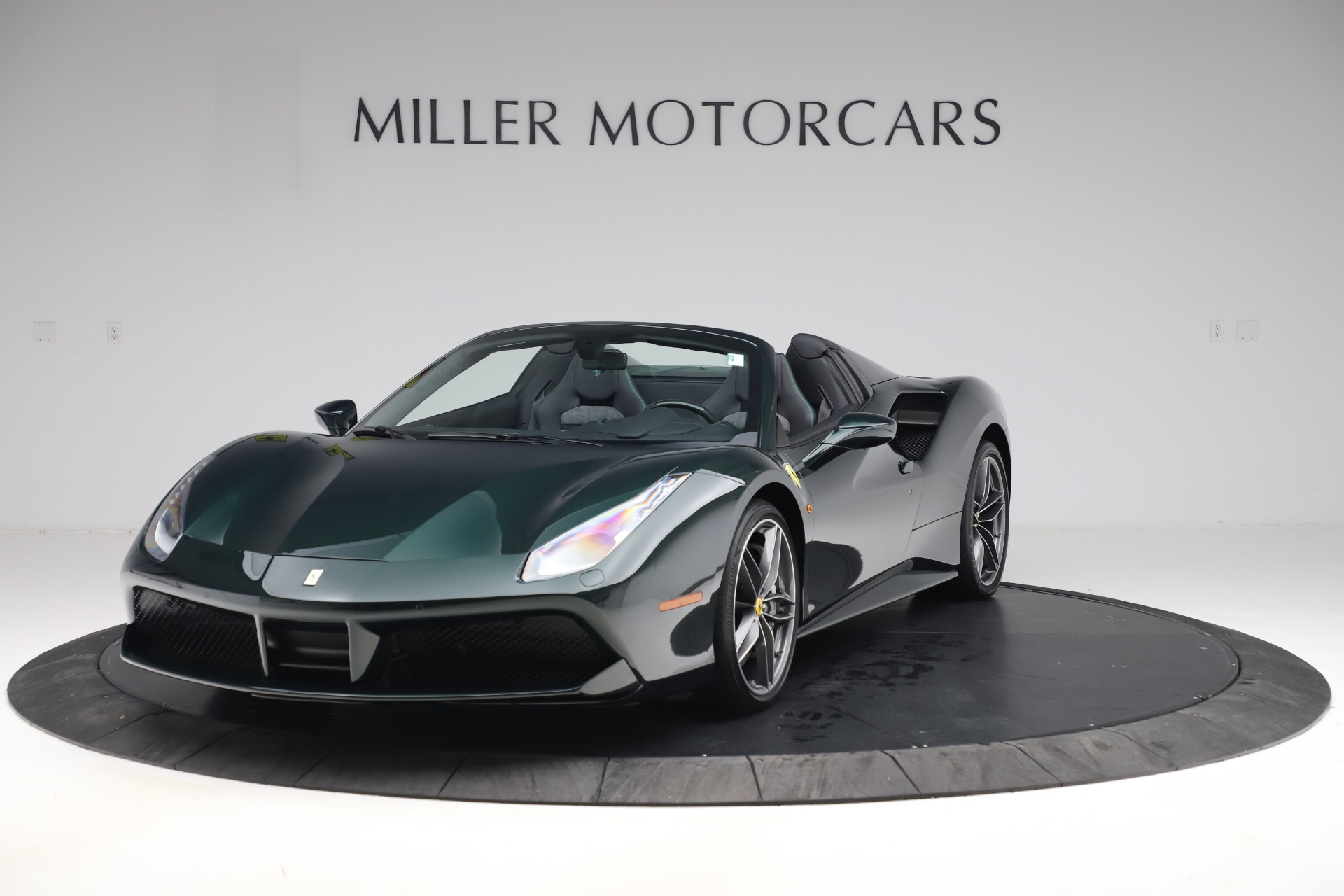 Used 2019 Ferrari 488 Spider Base for sale $329,900 at Bentley Greenwich in Greenwich CT 06830 1