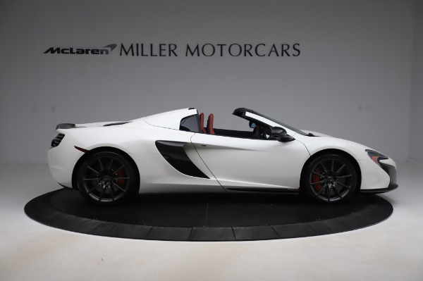 Used 2016 McLaren 650S Spider for sale $159,900 at Bentley Greenwich in Greenwich CT 06830 11