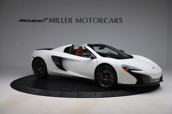 Used 2016 McLaren 650S Spider for sale $159,900 at Bentley Greenwich in Greenwich CT 06830 13