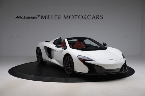 Used 2016 McLaren 650S Spider for sale $159,900 at Bentley Greenwich in Greenwich CT 06830 14