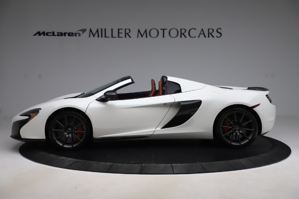 Used 2016 McLaren 650S Spider for sale $159,900 at Bentley Greenwich in Greenwich CT 06830 3