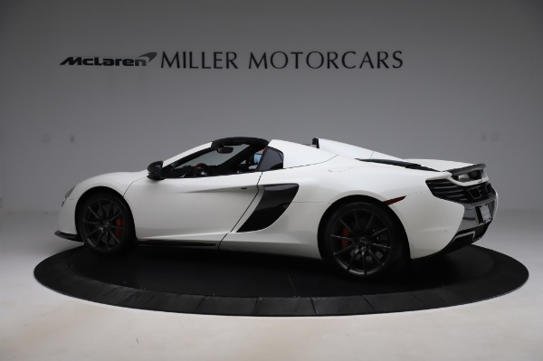 Used 2016 McLaren 650S Spider for sale $159,900 at Bentley Greenwich in Greenwich CT 06830 4