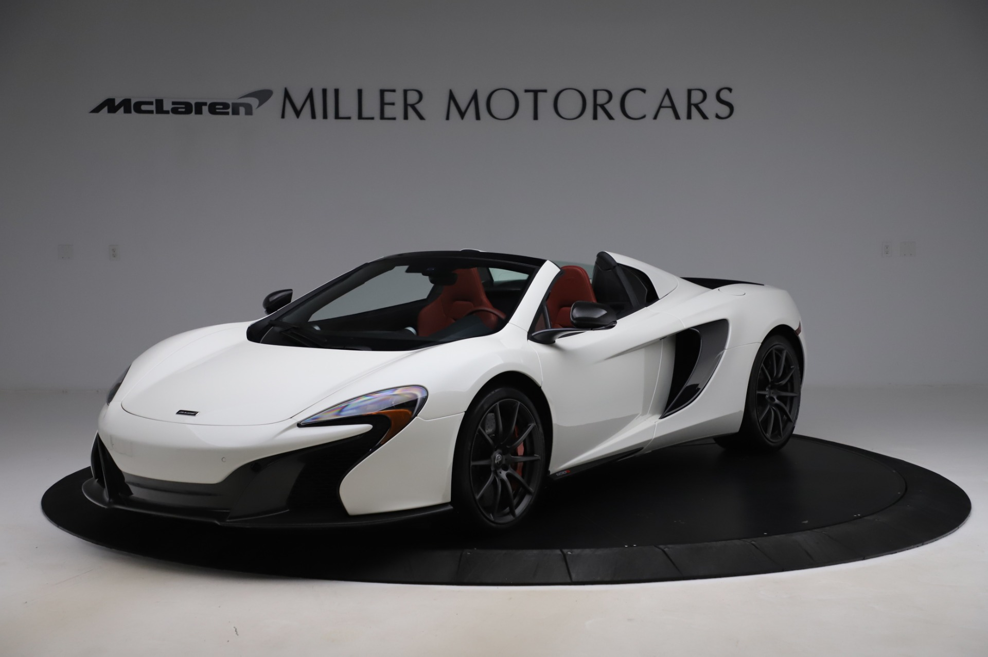 Used 2016 McLaren 650S Spider for sale $159,900 at Bentley Greenwich in Greenwich CT 06830 1
