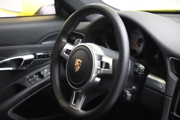 Used 2013 Porsche 911 Carrera 4S for sale $74,900 at Bentley Greenwich in Greenwich CT 06830 23