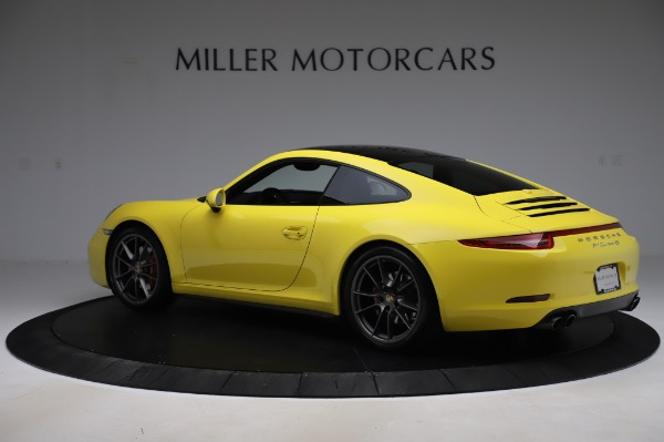 Used 2013 Porsche 911 Carrera 4S for sale $74,900 at Bentley Greenwich in Greenwich CT 06830 4