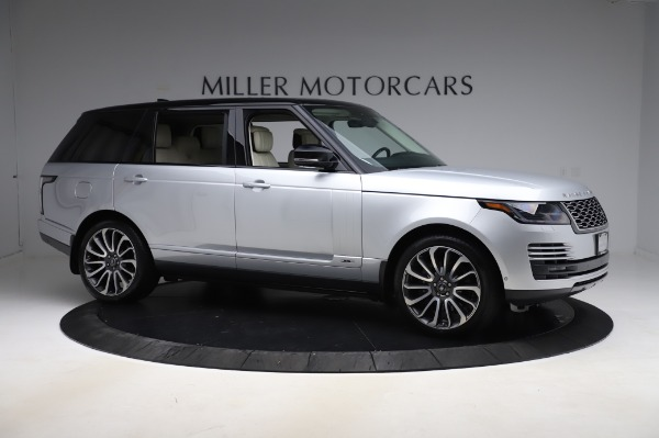 Used 2019 Land Rover Range Rover Supercharged LWB for sale Sold at Bentley Greenwich in Greenwich CT 06830 10