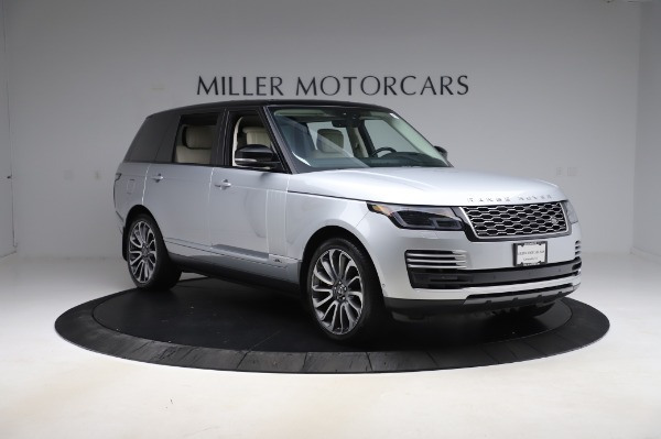 Used 2019 Land Rover Range Rover Supercharged LWB for sale Sold at Bentley Greenwich in Greenwich CT 06830 11