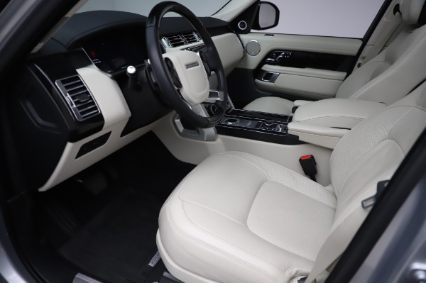 Used 2019 Land Rover Range Rover Supercharged LWB for sale Sold at Bentley Greenwich in Greenwich CT 06830 13