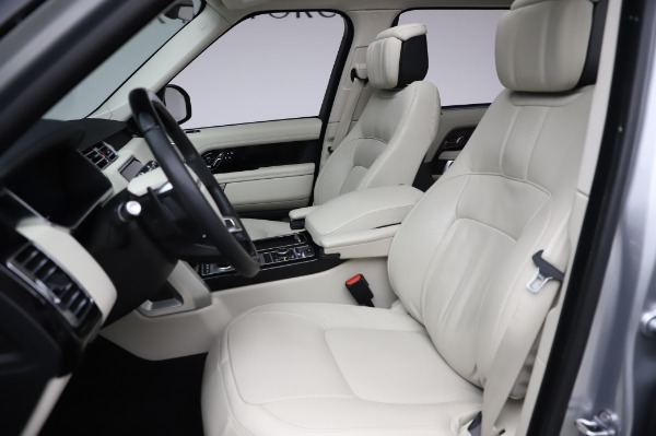 Used 2019 Land Rover Range Rover Supercharged LWB for sale Sold at Bentley Greenwich in Greenwich CT 06830 15