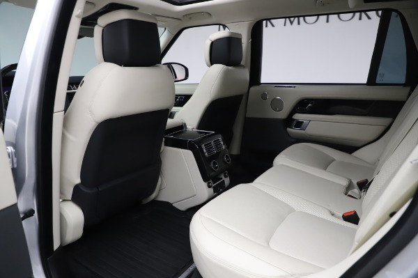 Used 2019 Land Rover Range Rover Supercharged LWB for sale Sold at Bentley Greenwich in Greenwich CT 06830 16