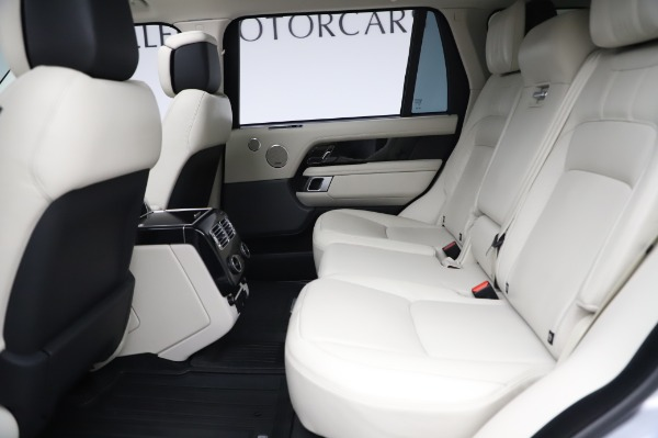 Used 2019 Land Rover Range Rover Supercharged LWB for sale Sold at Bentley Greenwich in Greenwich CT 06830 17