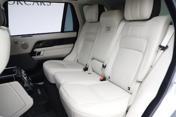 Used 2019 Land Rover Range Rover Supercharged LWB for sale Sold at Bentley Greenwich in Greenwich CT 06830 19