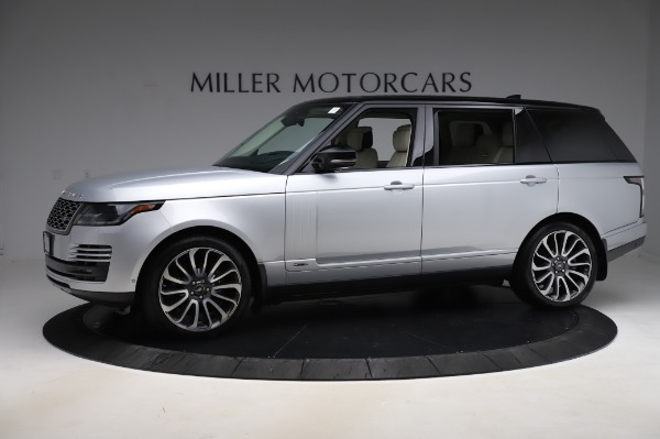 Used 2019 Land Rover Range Rover Supercharged LWB for sale Sold at Bentley Greenwich in Greenwich CT 06830 2