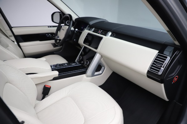 Used 2019 Land Rover Range Rover Supercharged LWB for sale Sold at Bentley Greenwich in Greenwich CT 06830 20
