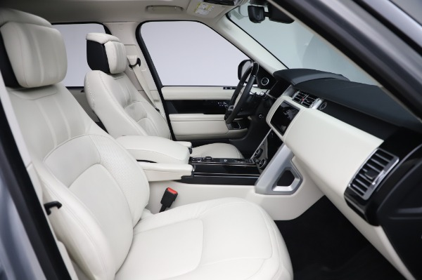 Used 2019 Land Rover Range Rover Supercharged LWB for sale Sold at Bentley Greenwich in Greenwich CT 06830 21
