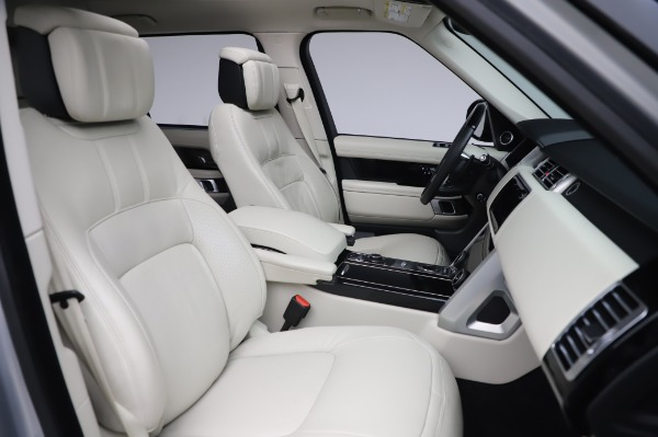 Used 2019 Land Rover Range Rover Supercharged LWB for sale Sold at Bentley Greenwich in Greenwich CT 06830 22