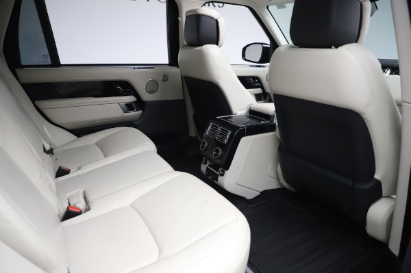 Used 2019 Land Rover Range Rover Supercharged LWB for sale Sold at Bentley Greenwich in Greenwich CT 06830 23