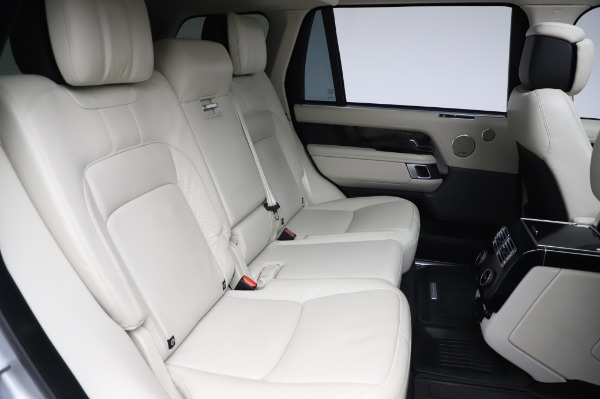 Used 2019 Land Rover Range Rover Supercharged LWB for sale Sold at Bentley Greenwich in Greenwich CT 06830 24