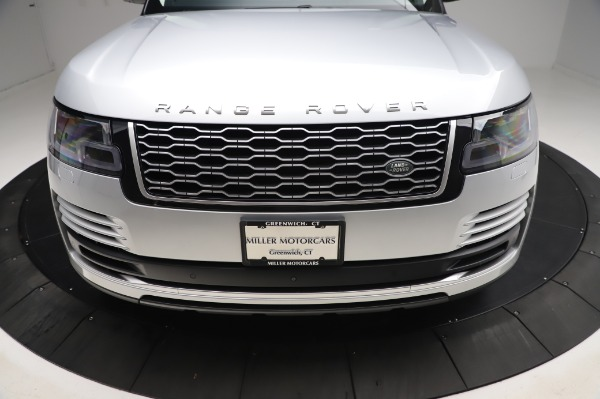 Used 2019 Land Rover Range Rover Supercharged LWB for sale Sold at Bentley Greenwich in Greenwich CT 06830 26
