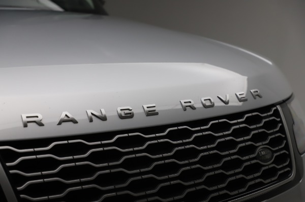 Used 2019 Land Rover Range Rover Supercharged LWB for sale Sold at Bentley Greenwich in Greenwich CT 06830 27