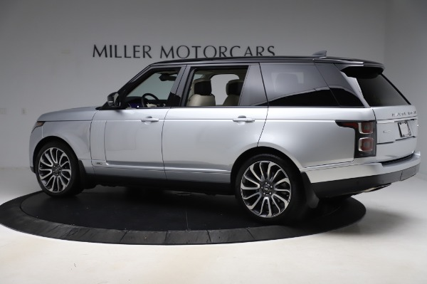 Used 2019 Land Rover Range Rover Supercharged LWB for sale Sold at Bentley Greenwich in Greenwich CT 06830 4