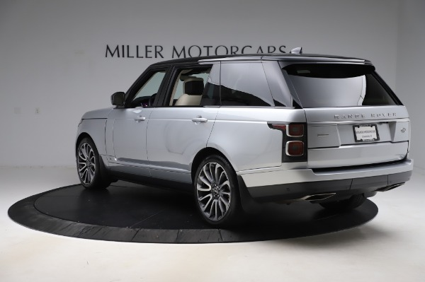 Used 2019 Land Rover Range Rover Supercharged LWB for sale Sold at Bentley Greenwich in Greenwich CT 06830 5