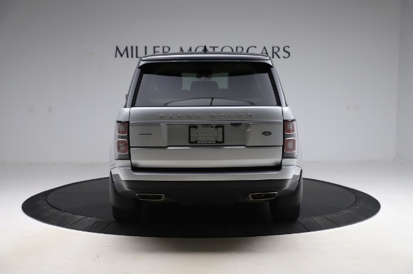 Used 2019 Land Rover Range Rover Supercharged LWB for sale Sold at Bentley Greenwich in Greenwich CT 06830 6