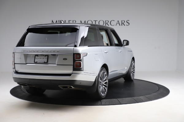 Used 2019 Land Rover Range Rover Supercharged LWB for sale Sold at Bentley Greenwich in Greenwich CT 06830 7