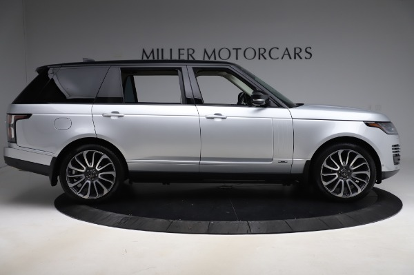 Used 2019 Land Rover Range Rover Supercharged LWB for sale Sold at Bentley Greenwich in Greenwich CT 06830 9