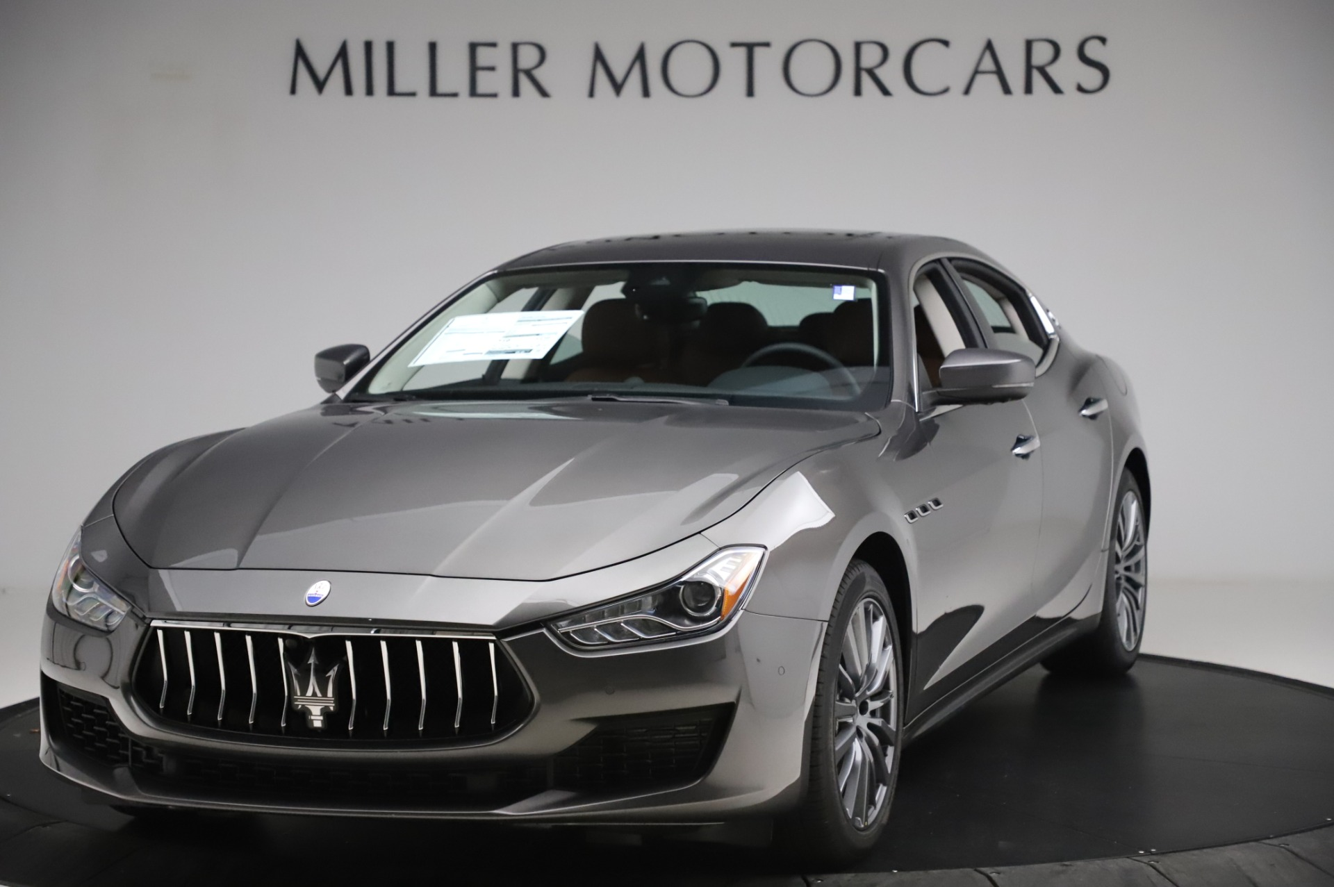 New 2020 Maserati Ghibli S Q4 for sale $83,785 at Bentley Greenwich in Greenwich CT 06830 1