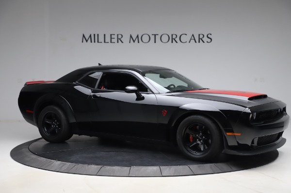 Used 2018 Dodge Challenger SRT Demon for sale Call for price at Bentley Greenwich in Greenwich CT 06830 10
