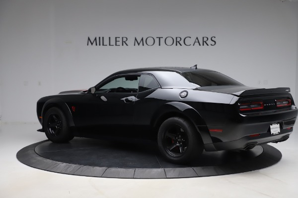 Used 2018 Dodge Challenger SRT Demon for sale Call for price at Bentley Greenwich in Greenwich CT 06830 4