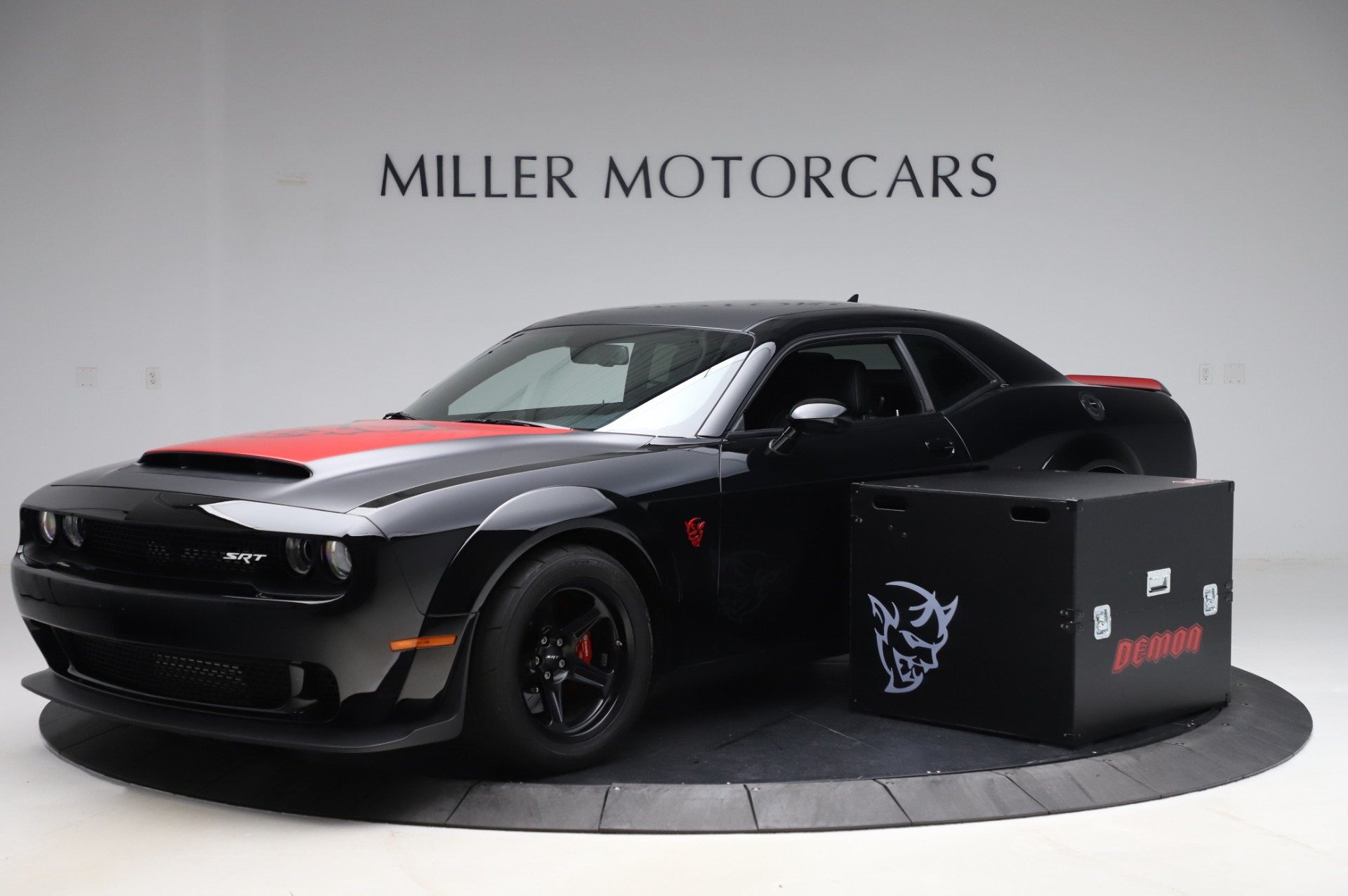 Used 2018 Dodge Challenger SRT Demon for sale Call for price at Bentley Greenwich in Greenwich CT 06830 1