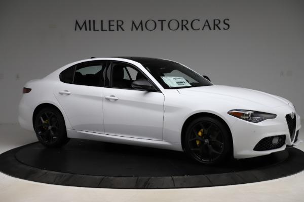 New 2020 Alfa Romeo Giulia Sport Q4 for sale $45,345 at Bentley Greenwich in Greenwich CT 06830 10