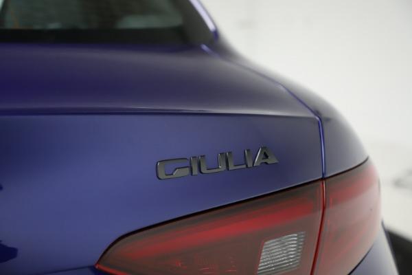 New 2020 Alfa Romeo Giulia Ti Sport Q4 for sale $47,995 at Bentley Greenwich in Greenwich CT 06830 28
