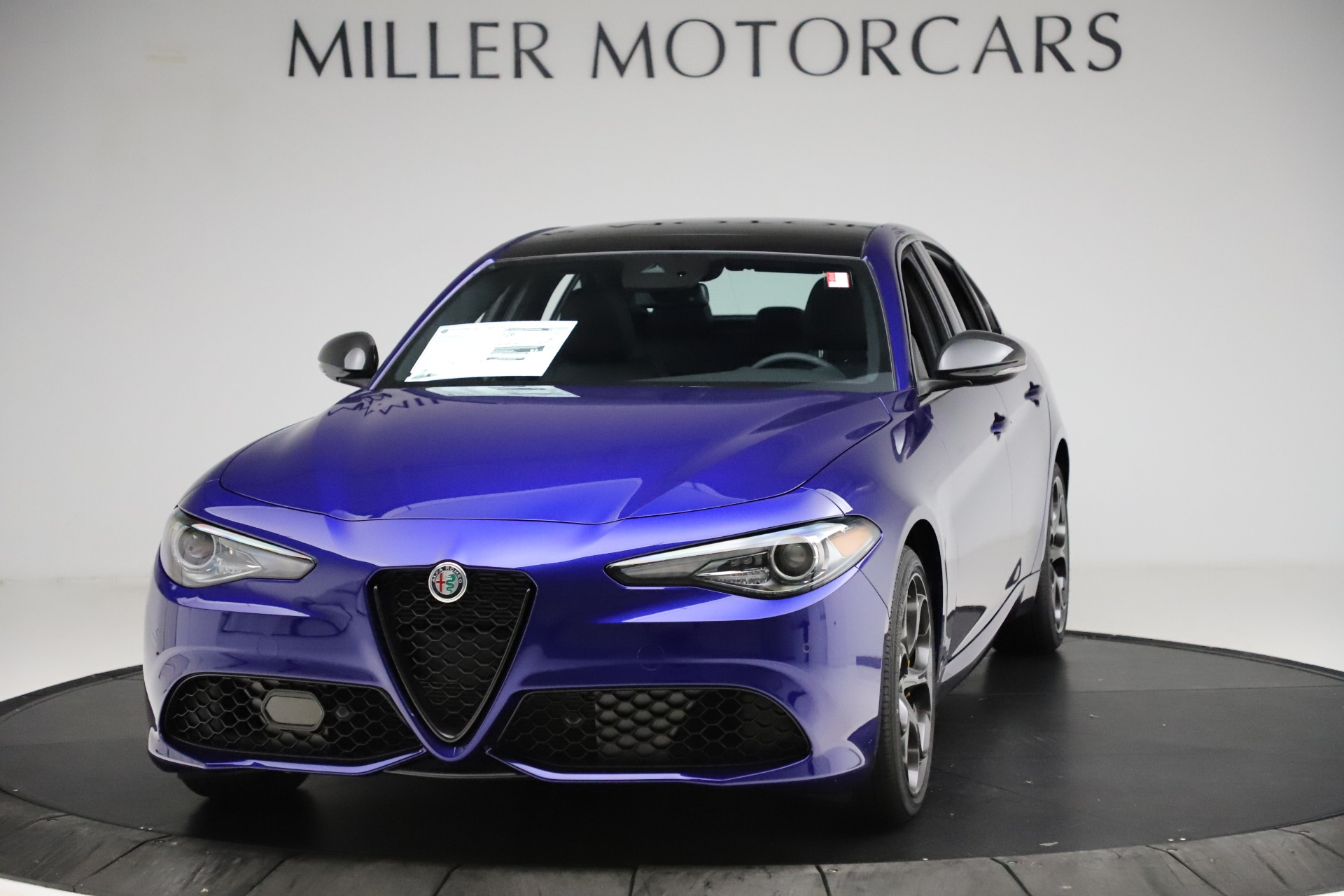 New 2020 Alfa Romeo Giulia Ti Sport Q4 for sale $52,995 at Bentley Greenwich in Greenwich CT 06830 1
