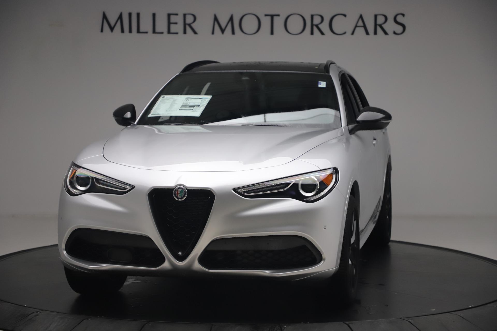 New 2020 Alfa Romeo Stelvio Ti Sport Q4 for sale $54,795 at Bentley Greenwich in Greenwich CT 06830 1