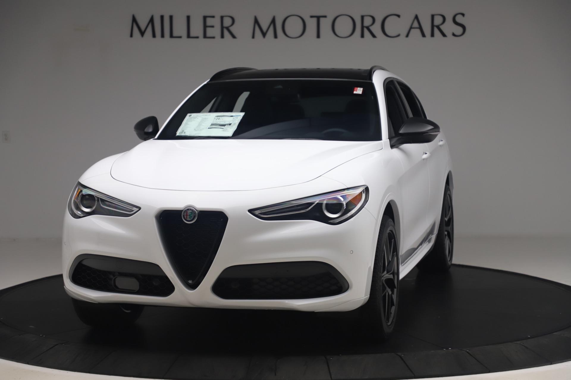 New 2020 Alfa Romeo Stelvio Ti Sport Q4 for sale $56,495 at Bentley Greenwich in Greenwich CT 06830 1