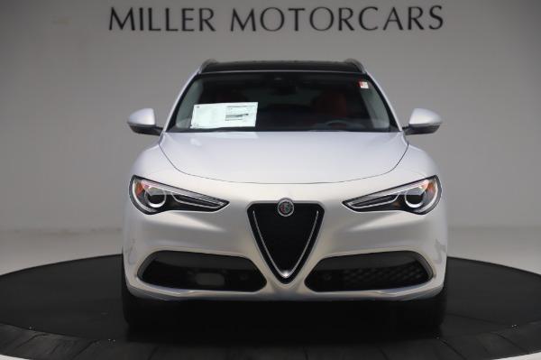 New 2020 Alfa Romeo Stelvio Ti Lusso Q4 for sale $54,145 at Bentley Greenwich in Greenwich CT 06830 12