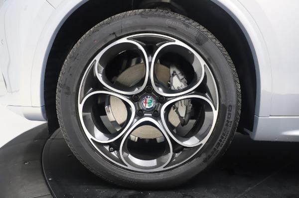 New 2020 Alfa Romeo Stelvio Ti Lusso Q4 for sale $54,145 at Bentley Greenwich in Greenwich CT 06830 14