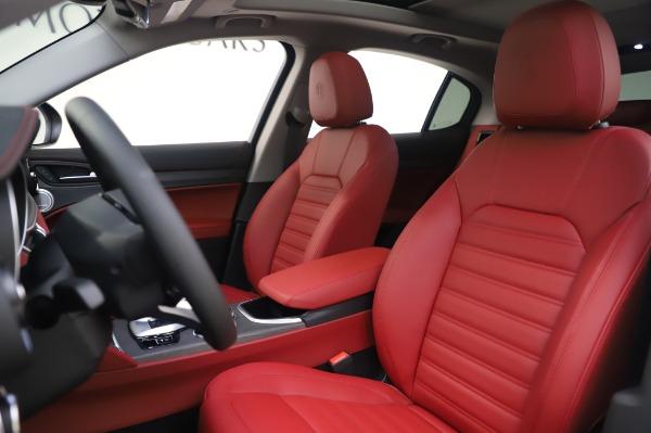 New 2020 Alfa Romeo Stelvio Ti Lusso Q4 for sale $54,145 at Bentley Greenwich in Greenwich CT 06830 15