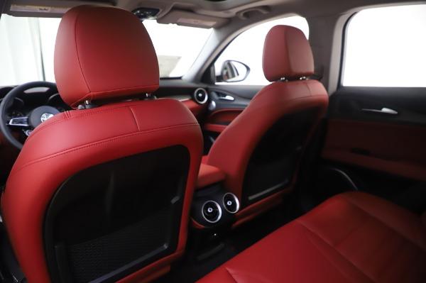 New 2020 Alfa Romeo Stelvio Ti Lusso Q4 for sale $54,145 at Bentley Greenwich in Greenwich CT 06830 22