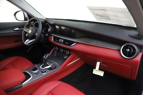 New 2020 Alfa Romeo Stelvio Ti Lusso Q4 for sale $54,145 at Bentley Greenwich in Greenwich CT 06830 25