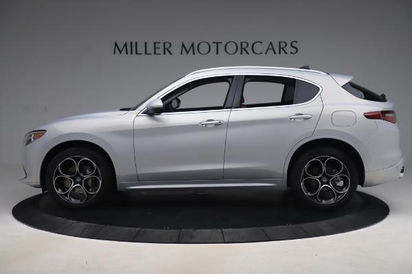 New 2020 Alfa Romeo Stelvio Ti Lusso Q4 for sale $54,145 at Bentley Greenwich in Greenwich CT 06830 3